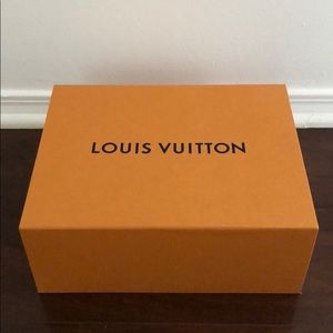Louis Vuitton Shoes Box Orange